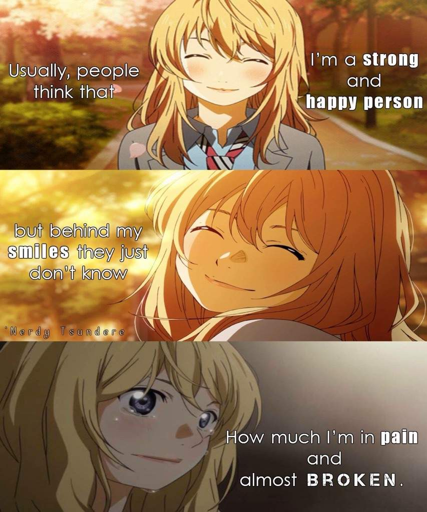 Heart Breaking Anime Quotes