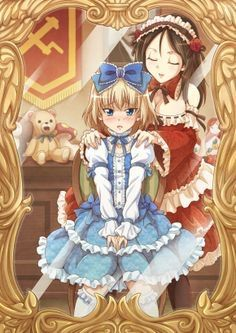 Old Victorian Dresses Anime