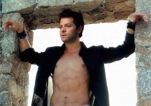 Misha collins shirtless supernatural