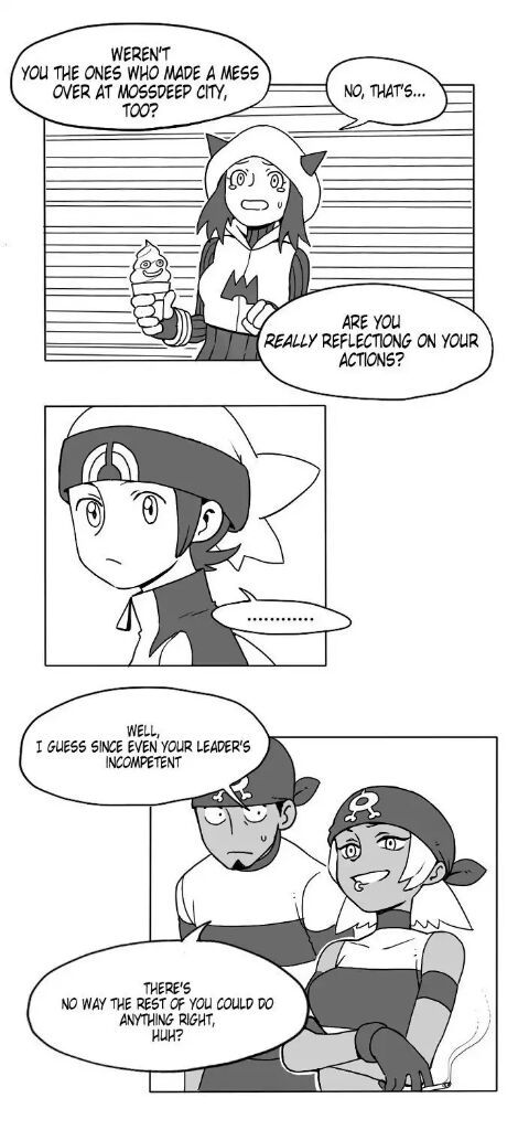 Dating a team magma grunt rule 34