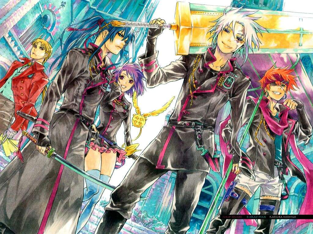 D Gray Man Anime Characters : Manga review quot d gray man july th anime amino