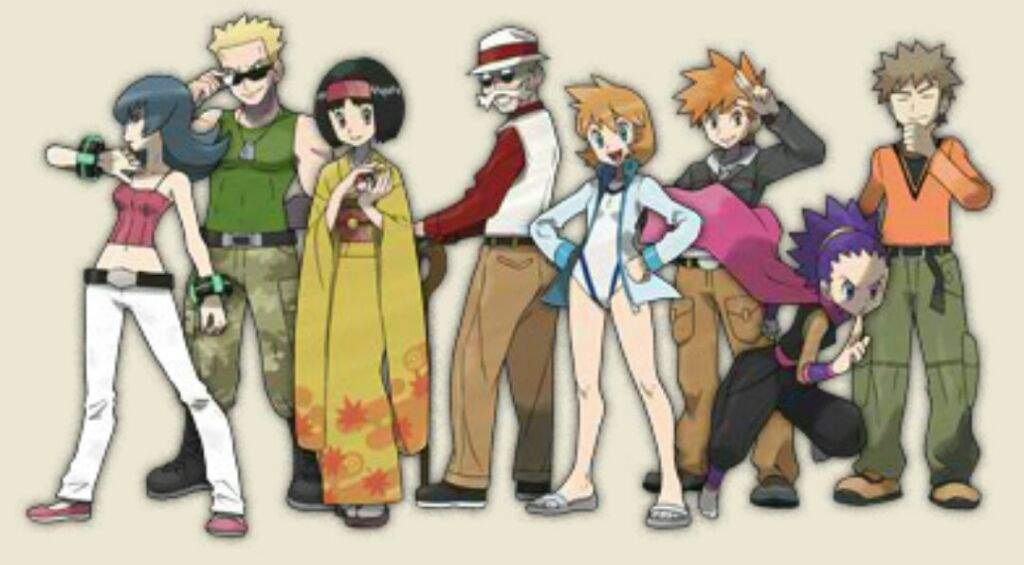 my favorite and least favorite pok233mon gym leaders of