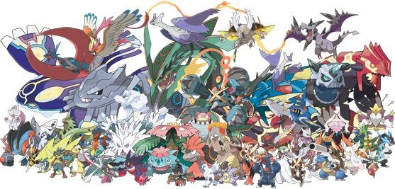 When pokemon x amp y came out they introduce mega evolutions everyone