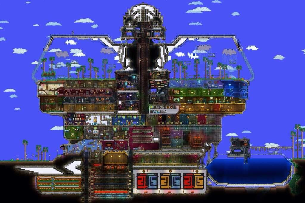 Day Two Of Minecraft Vs Terraria Minecraft Amino