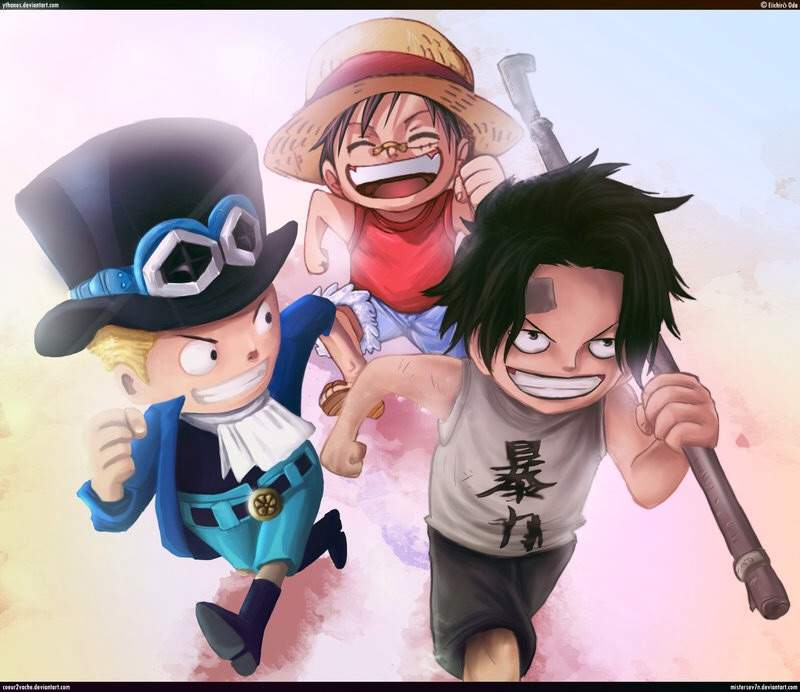 Sabo, Ace and Luffy | Anime Amino