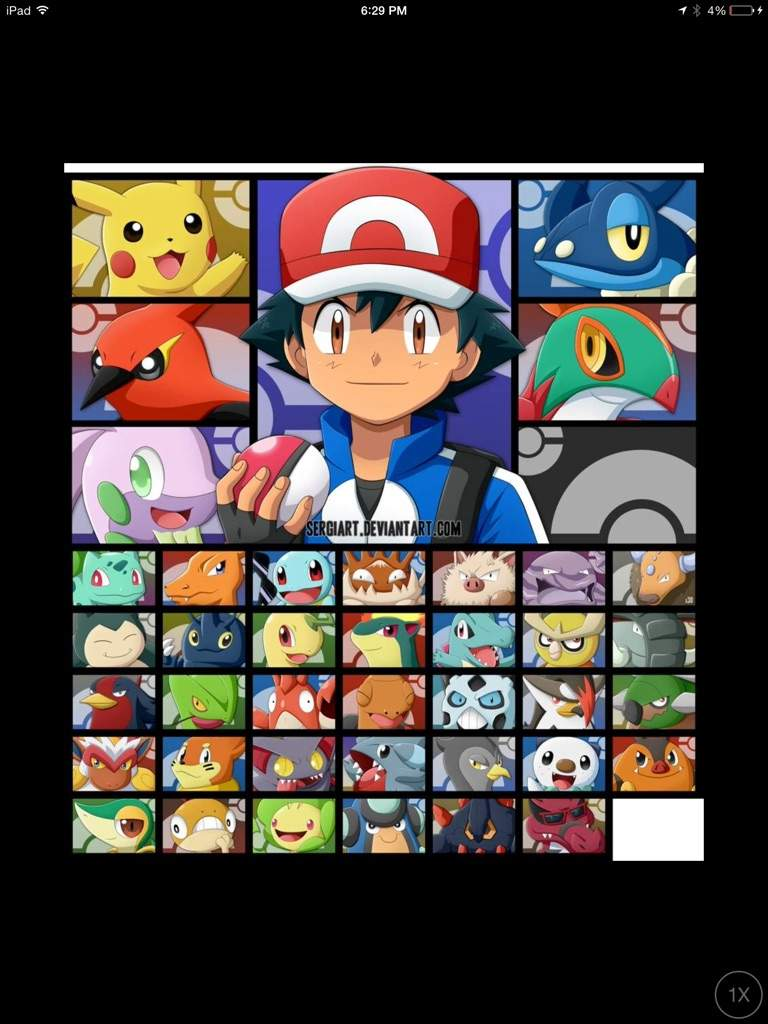 Pokemon Ash Alola Team Images
