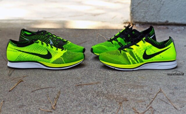 nike flyknit trainer and racer