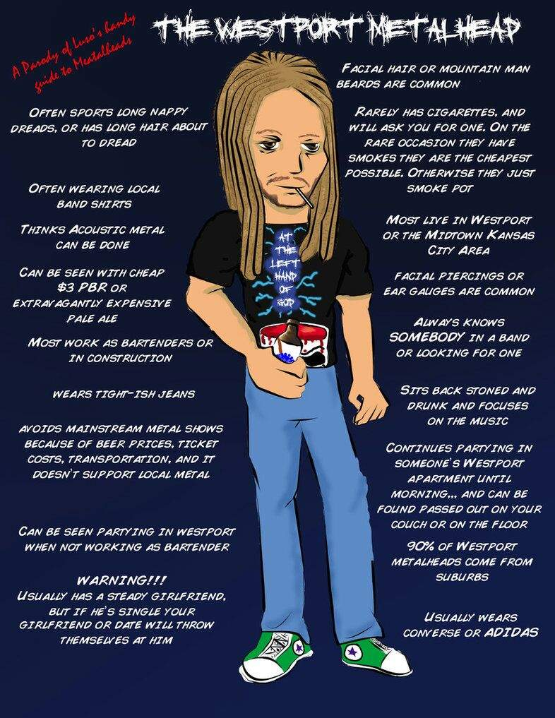 Metalhead Stereotypes Music Amino