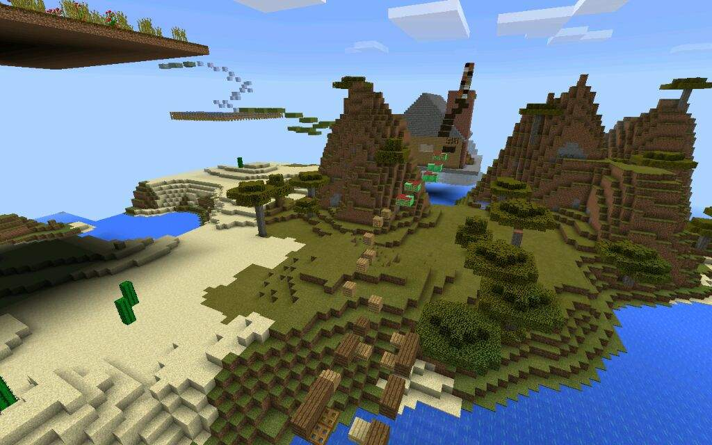 Giant Parkour Map | Minecraft Amino