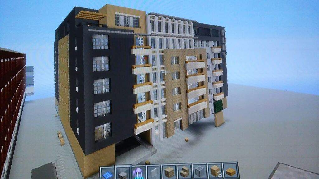 An Apartment Building Minecraft Amino