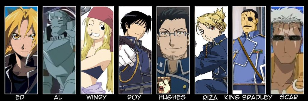 Top 5 FullMetal Alchemist Characters | Anime Amino