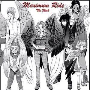 Maximum ride anime book 9