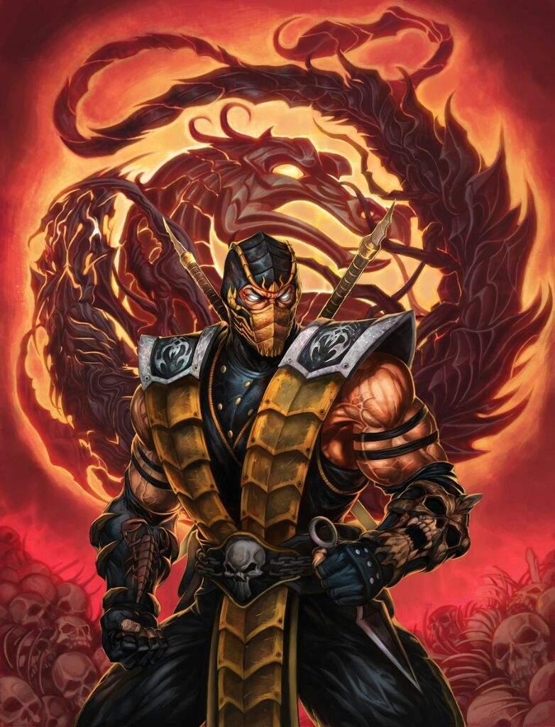 Ghost Rider vs Scorpion | Comics Amino