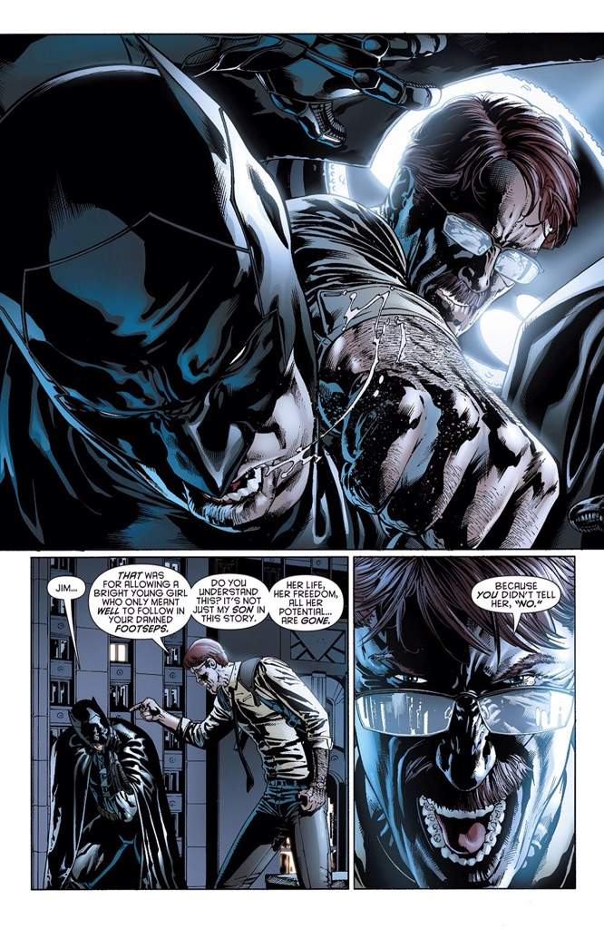 Fine Does Commissioner Gordon Know His Daughter Is Batgirl Comics Amino Hairstyles For Women Draintrainus