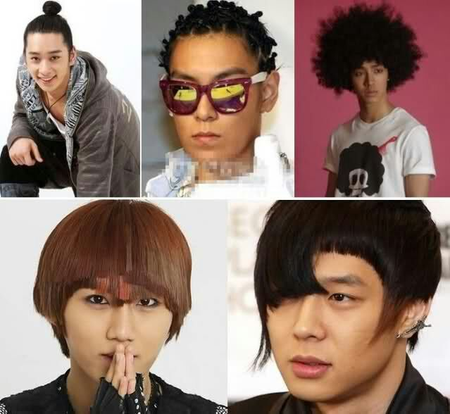 Extraordinary Must Try K Pop Hairstyles Male Edition