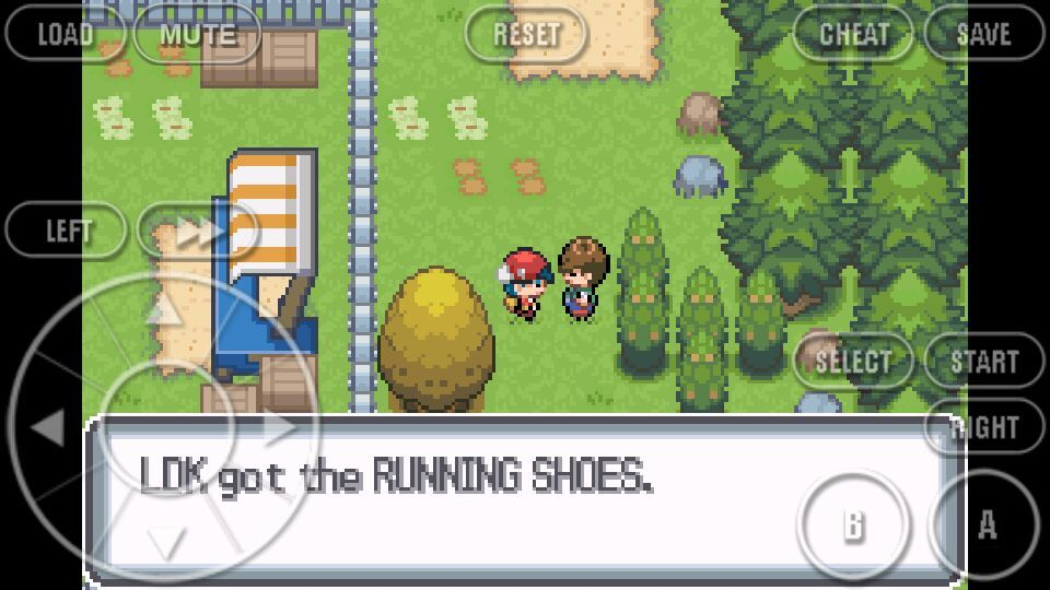 Pokemon Light Platinum How To Get Running Shoes