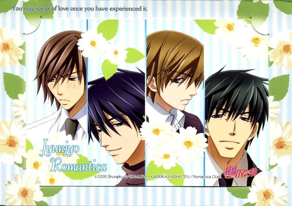 Junjou Romantica | Anime Amino