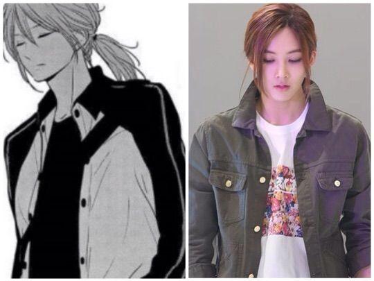 Kpop Guys Who Look Like Manhwa/Anime Characters!