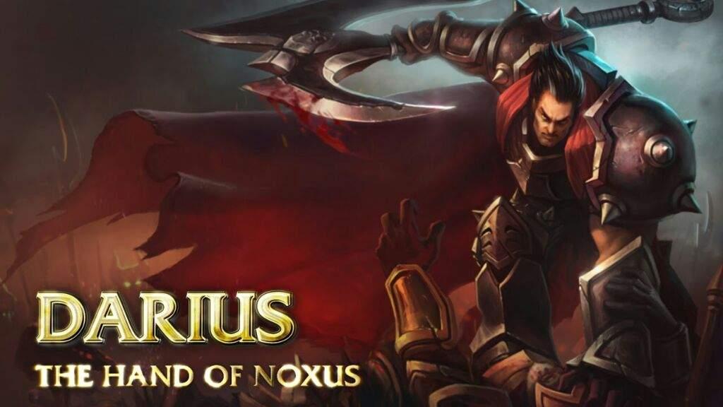 league of legends darius build