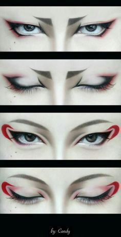 Male Cosplay Eye Makeup Tutorials 3 Cosplay Amino