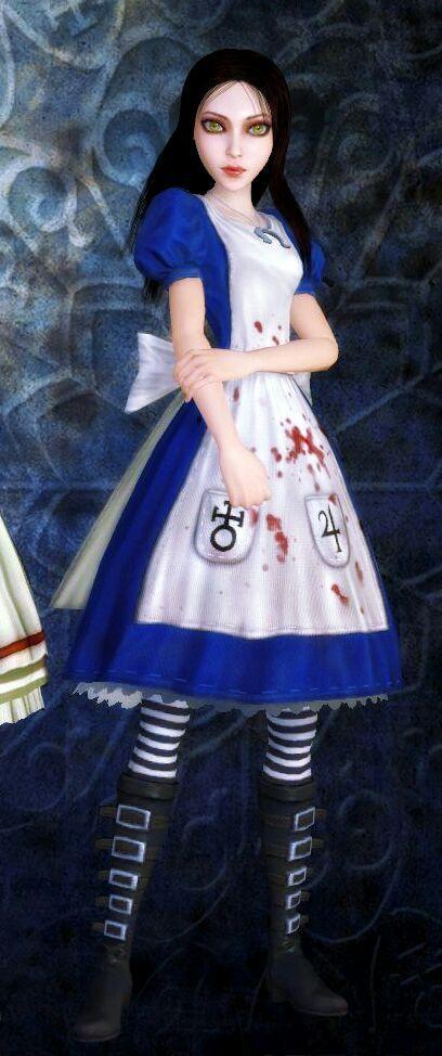 Как сделать игру алиса в стране кошмаров в окне