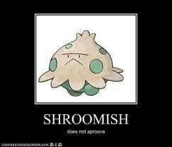 shroomish evolve levels