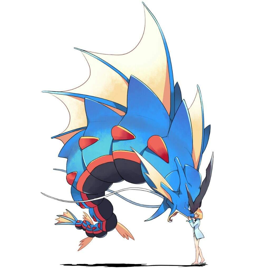 Misty's Ultimate Team | Pokémon Amino Pokemon Mega Red Gyarados