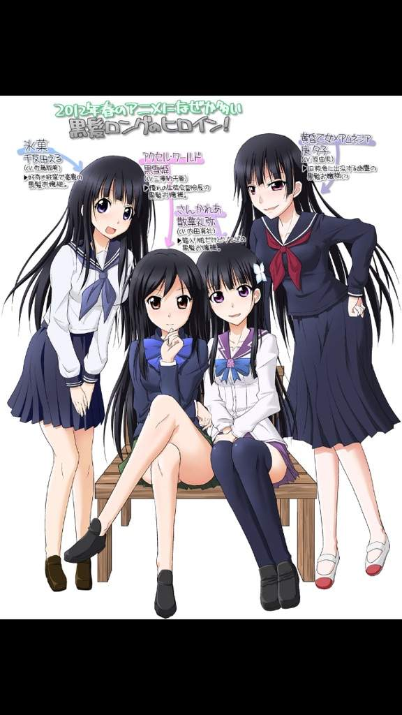 Top 10 Favorite Dark Haired Anime Girls | Anime Amino - photo#27