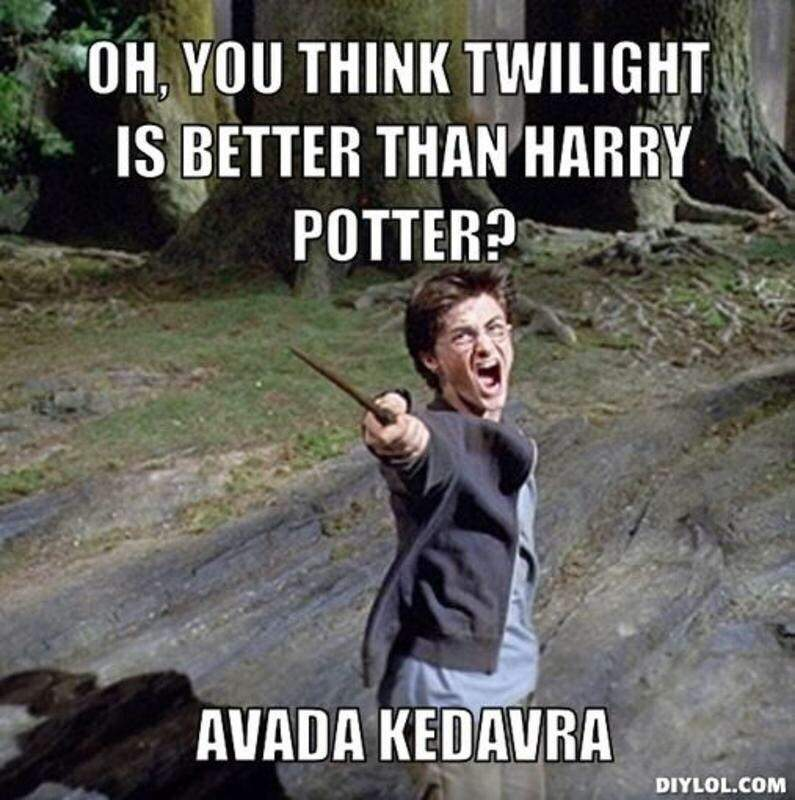 Potter funnies harry