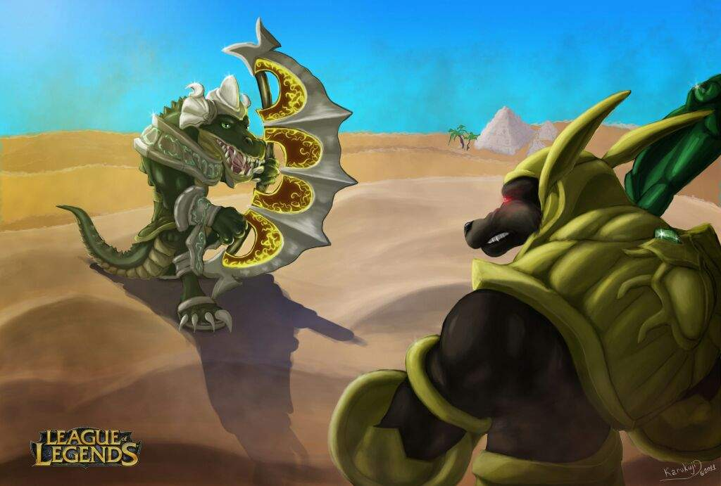 the brothers of the sands renekton part 3 league of