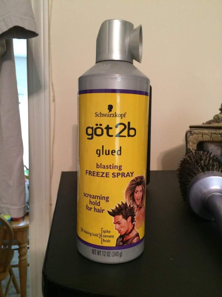 Hairspray alternative