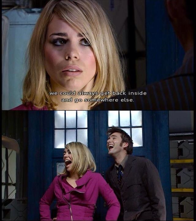 the doctor rose tyler relationship advice