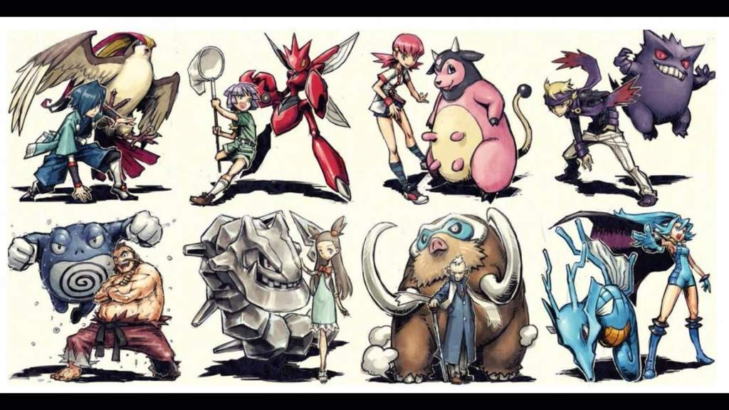 i rank the gym leaders by generation pok233mon amino