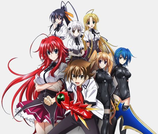 The Testament Of Sister New Devil Or Highschool DxD