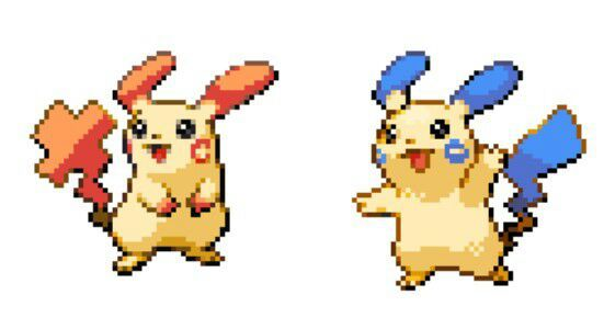 Minun And Plusle Evolution