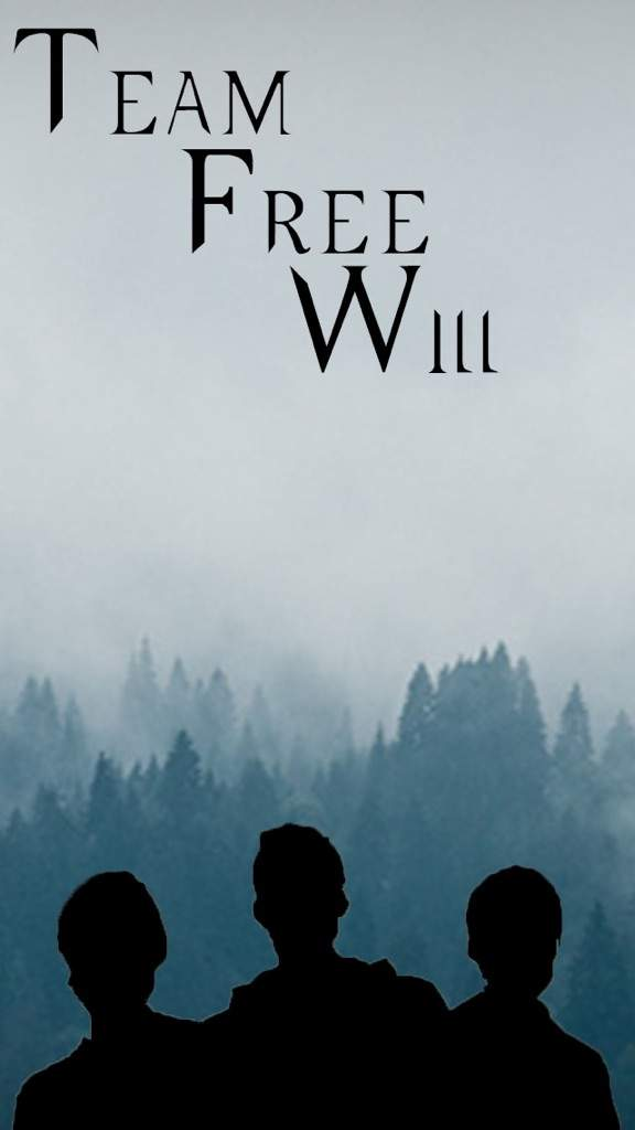 team free will wallpaper supernatural amino