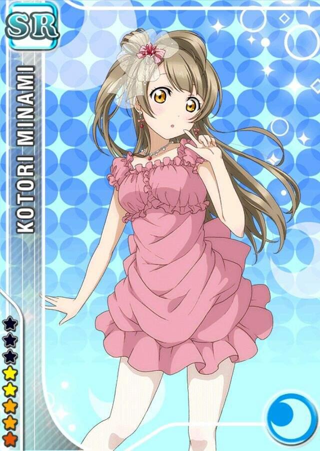 Anime Characters Born On June 8 : Kotori minami anime amino