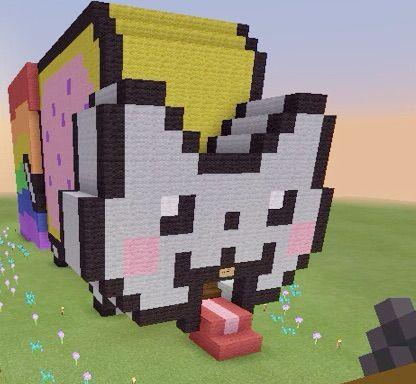 My Nyan Cat House Minecraft Amino