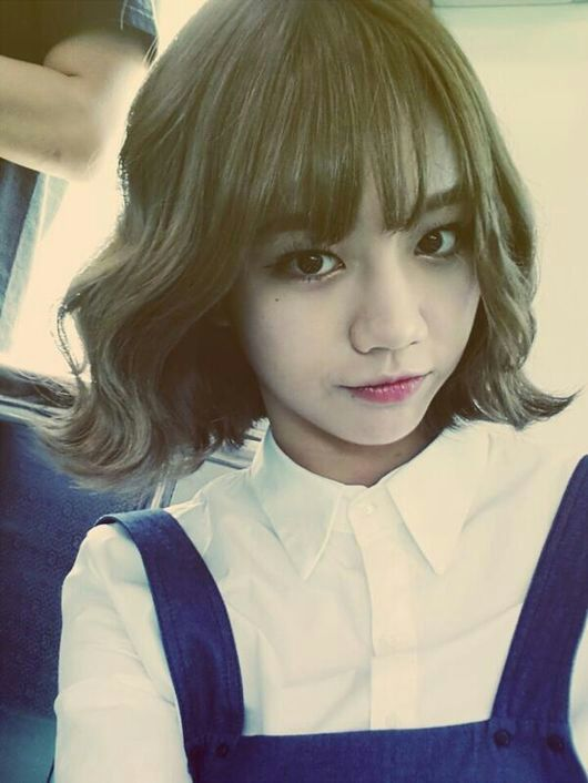 Super Female Kpop Idols Short Hair K Pop Amino Short Hairstyles Gunalazisus