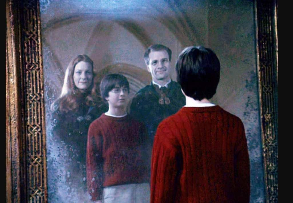 The mirror of erised harry potter amino for Espejo harry potter