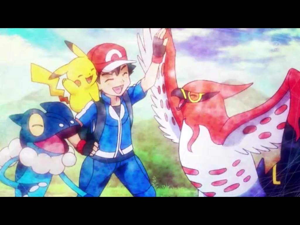 This bird is on fire part 3 pok mon amino - Ash fletchinder evolves into talonflame ...