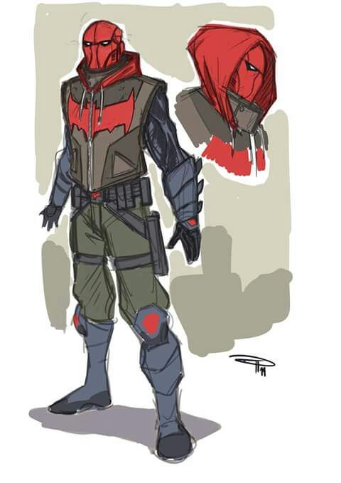 Wip Red Hood Armor Red Hood Arsenal Ver Cosplay Amino
