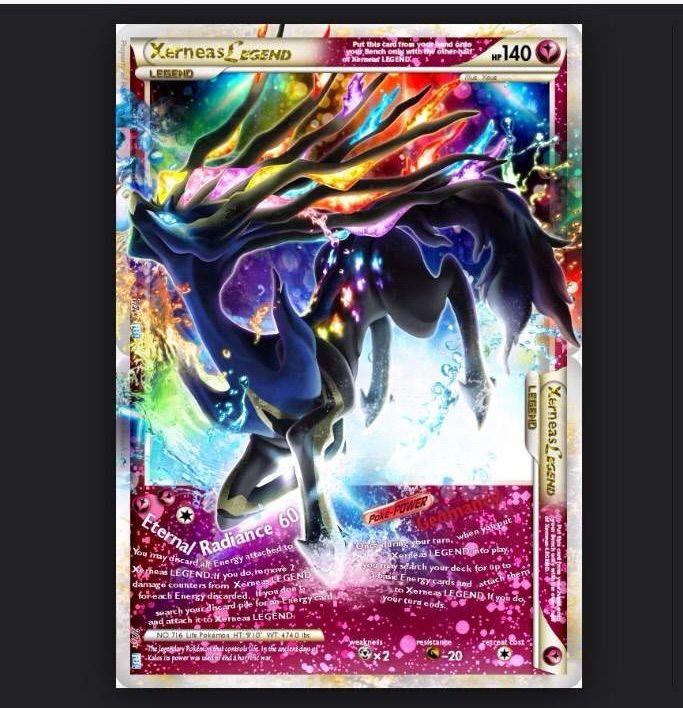 xerneas legend card pok233mon amino
