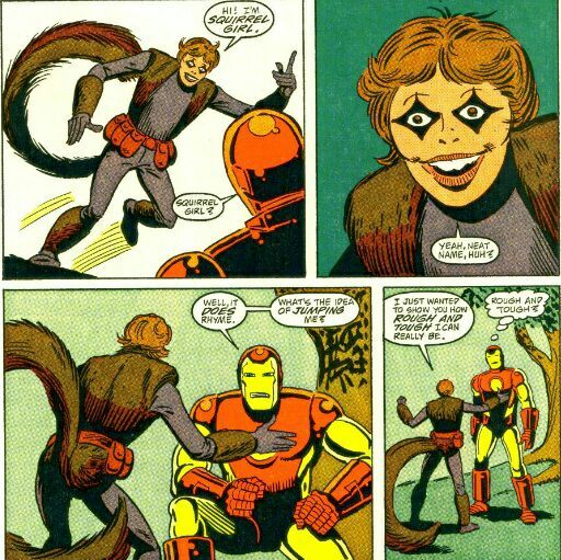 """Image result for squirrel girl first appearance"""""""