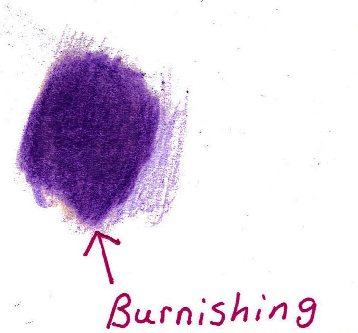 how to use a blending stump with colored pencils