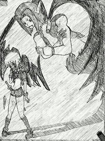 Cx Shadow Monster Inspired By Blue Dragon Anime Amino