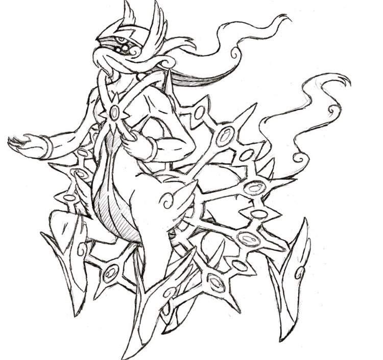 Project Fakemon Mega Arceus