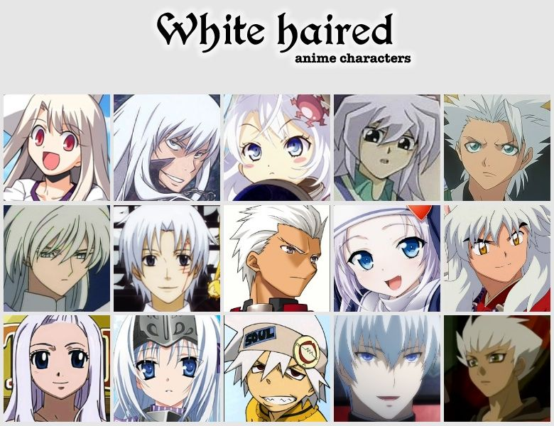 Anime Characters Pink Hair : White haired anime characters amino