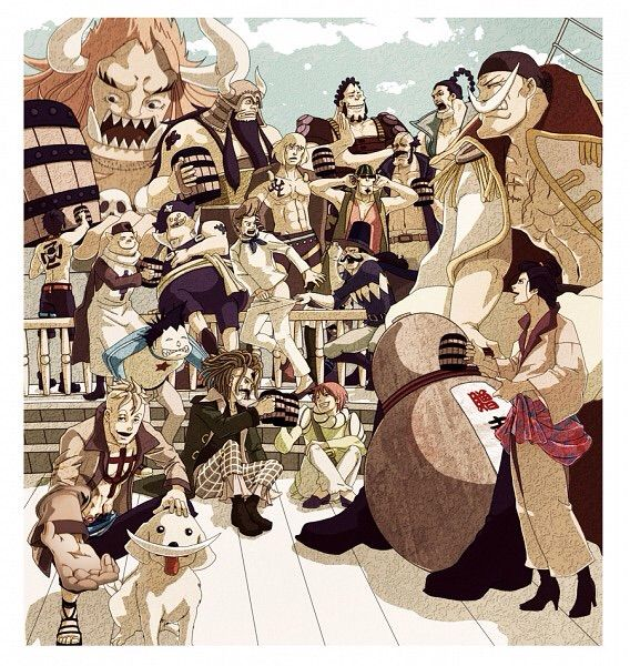 Whitebeard Pirates | Anime Amino
