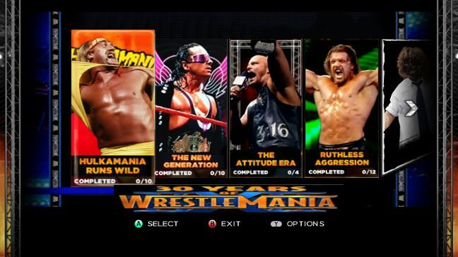 Wwe video game modes from the past 10 years wrestling amino